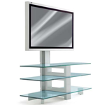 Erard 3 Glass Shelves With Column