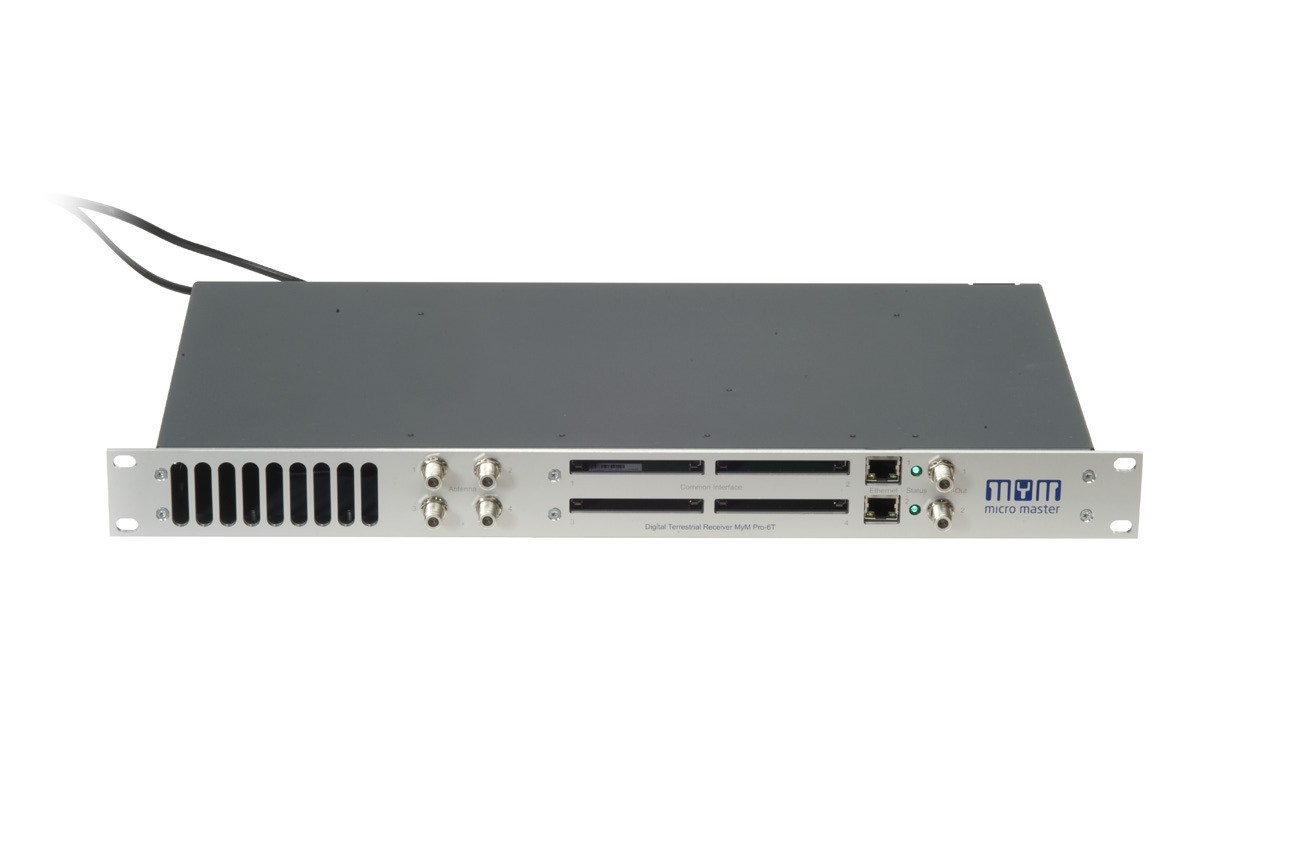 DVB-T Micro Headend Offers 6 Analog channels from any digital Freeview Mux's