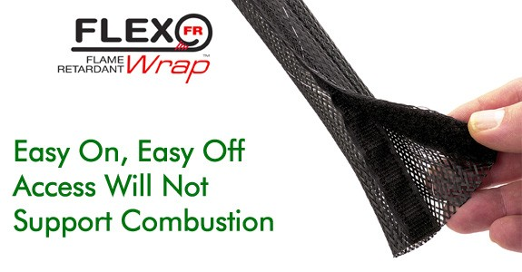 Techflex Flame Retardant Wrap 3/4""