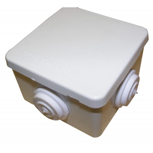 IP55 80mm x 80mm x 50mm Connection Box