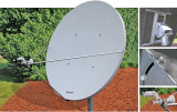 Channel Master / Andrews 1.8m Dish With Azel Mount