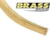 "Techflex Brass Braid - 3.18mm - 1/8"" Brass"