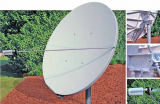 Skyware Global2.4m Dish With Azel Mount