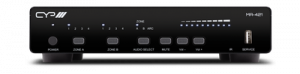 4x2+1 HDMI Input & HDBaseT/HDMI Output Matrix and Amplifier with AVLC 4KHDR