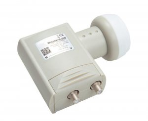 Triax Wideband LNB with vertical and horizontal output (290-2340 MHz) suitable for SkyQ