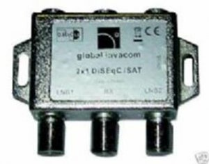 Global 2 Way Diseqc Switch Switches Hypex Ltd
